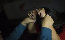 Насилие над девушкой. Иллюстративное фото