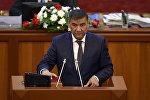 КСДП фракциясынын депутаты Искендер Матраимовдун архивдик сүрөтү