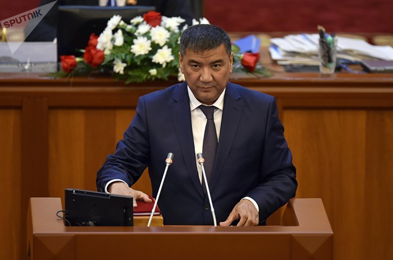 Депутат ЖК 6 созыва Искендер Матраимов от партии СДПК. Архивное фото