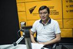 Кыргызпатенттин инспекторлук бөлүмүнүн башчысы Аскар Нажимудинов