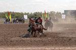 Казак машыктыруучусу: көкпар финалында кыргыз жеңсе да, казак жеңсе да кубанабыз