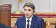 Архивное фото министра экономики Артема Новикова