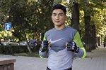 Кыргызстандык спортчу Самат Эмилбеков. Архив