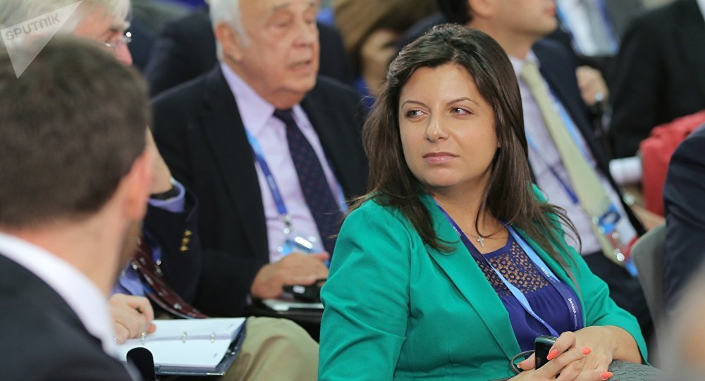 Архивное фото главного редактора МИА Россия сегодня и телеканала RT Маргариты Симоньян