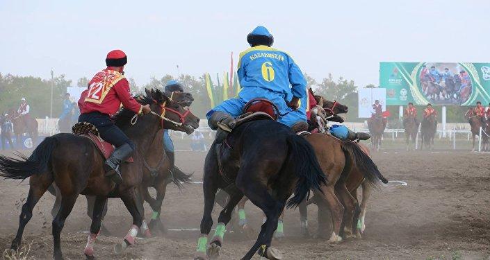 Cборная Казахстана стала чемпионом мира по кокпару, обыграв команду Кыргызстана в финальной игре
