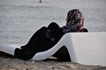 Хиджаб кийген аял. Архив