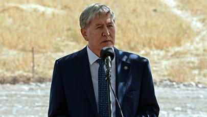 Экс-президент Алмазбек Атамбаев. Архивдик сүрөт