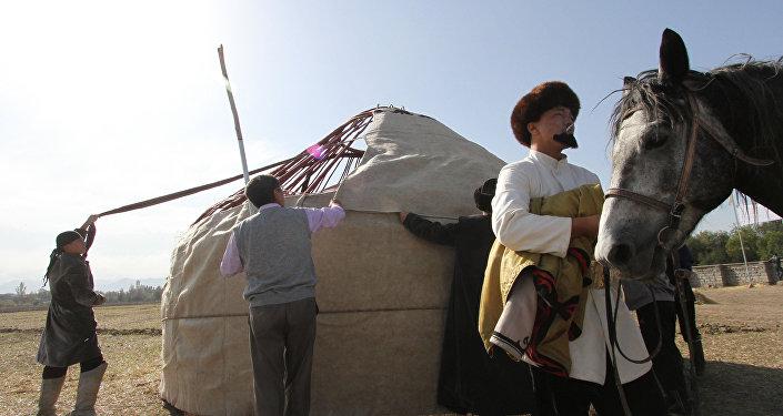 Фестиваль кочевников. Архивное фото