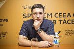 Эксперт в области экономики Влад Нани в радиостудии Sputnik Молдова