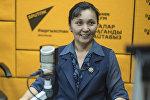 Мэриянын алдындагы Мамлекеттик тилди өнүктүрү бөлүмүнүн жетекчиси Элвира Ниязбекова
