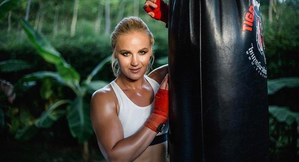 Кыргызстанский боец UFC Валентина Шевченко. Архивное фото