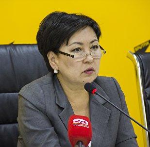 Архивное фото министра образования и науки Гульмиры Кудайбердиевой