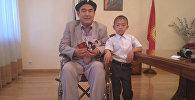 Кыргызстанец Марат Уметов получил посмертную награду отца — ветерана ВОВ Каратая Уметова через 72 года после победы