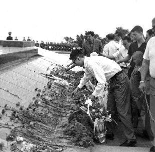 Перезахоронение жертв репрессий в мемориальном комплексе Ата-Бейит