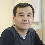 Журналист Sputnik Кыргызстан Усеналиев Расул.