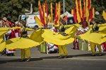 Бишкекетин Ала-Тоо аянтында Эгемендүүлүк майрамы белгиленди