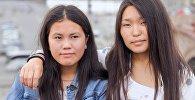 Ты супер! Танцы эл аралык долбооруна катышып жаткан кыргызстандык катышуучулар Айдана Шатемирова жана Нуриза Көчкөнбай кызы