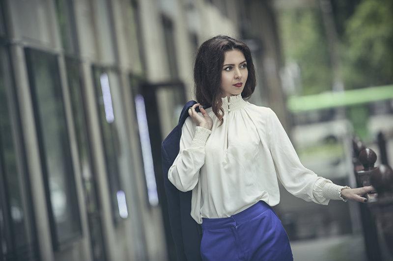 Бишкекчанка Сабина Рейнгольд