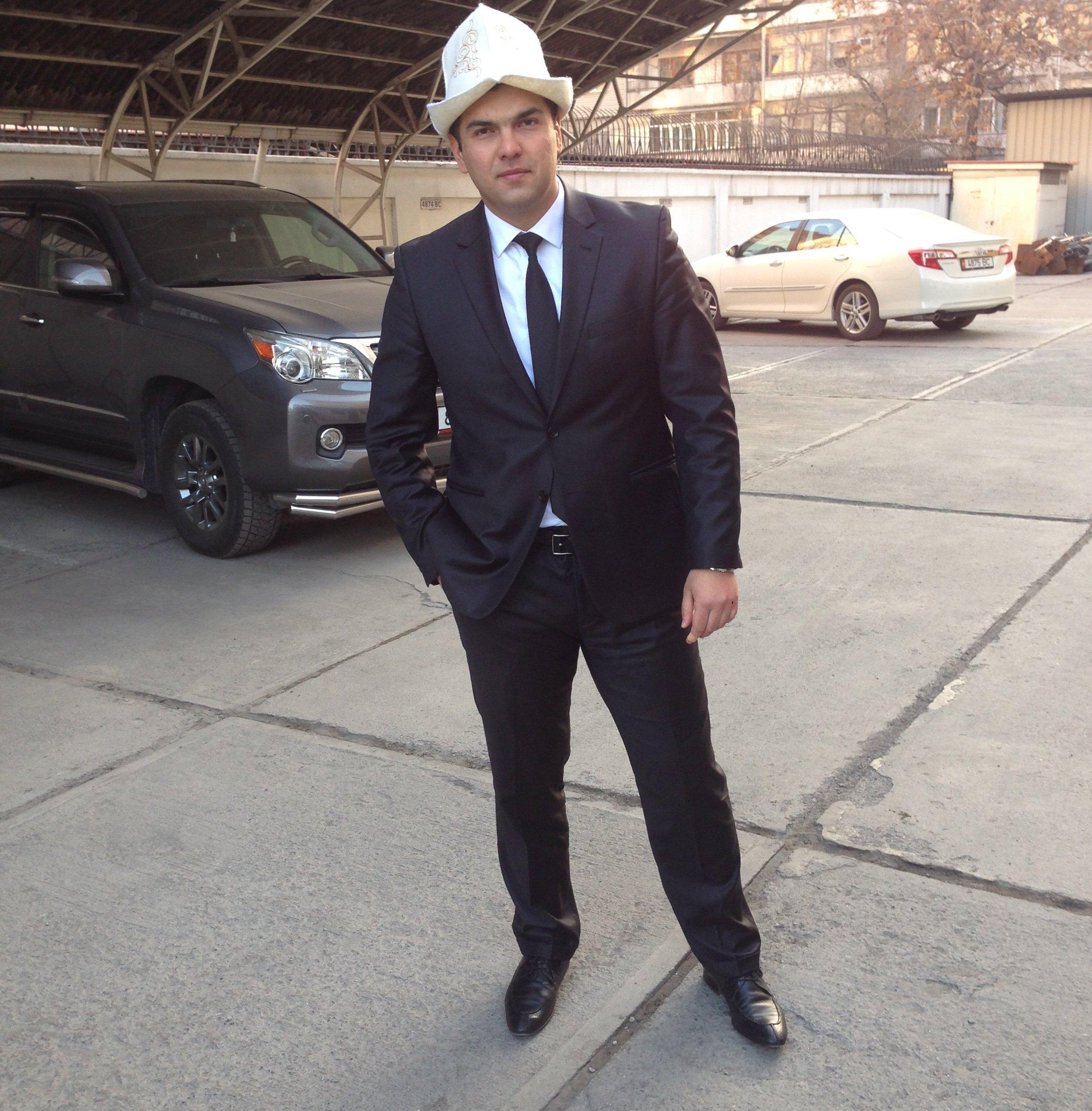 Бишкекчанин Васип Рамазанов