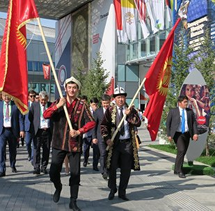 Астанада ЭКСПО-2017 иш-чарасынын алкагында Кыргызстандын эгемендик майрамы менен улуттук күнү белгиленди