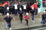 Кара жорго станцевали кыргызстанки в Осло — зажигательное видео из Норвегии