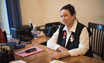 Кыргызстандын мурдагы тышкы иштер министри, коомдук ишмер Жамал Ташыбекова. Архив