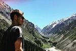 Путешественник из Амстердама Джоб Баккер (Job Bakker) в Кыргызстане