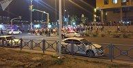 Астанада 30га чукул адам катышкан массалык мушташ