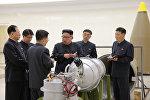 Түндүк Кореянын президенти Ким Чен Ын. Архив