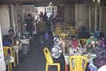 Столовая в одном из рынков Бишкека. Архивное фото
