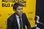 Заместитель начальника Управления землепользования и строительства мэрии Бишкека Медер Раимкулов. Архивное фото
