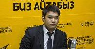 Архивное фото заместителя начальника Управления землепользования и строительства мэрии Бишкека Медера Раимкулова