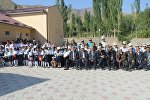 Открытие школы имени Абдыраимова в селе Божой