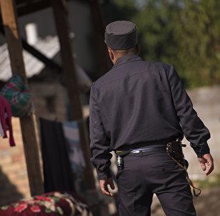 Сотрудник правоохранительных органов. Архивное фото