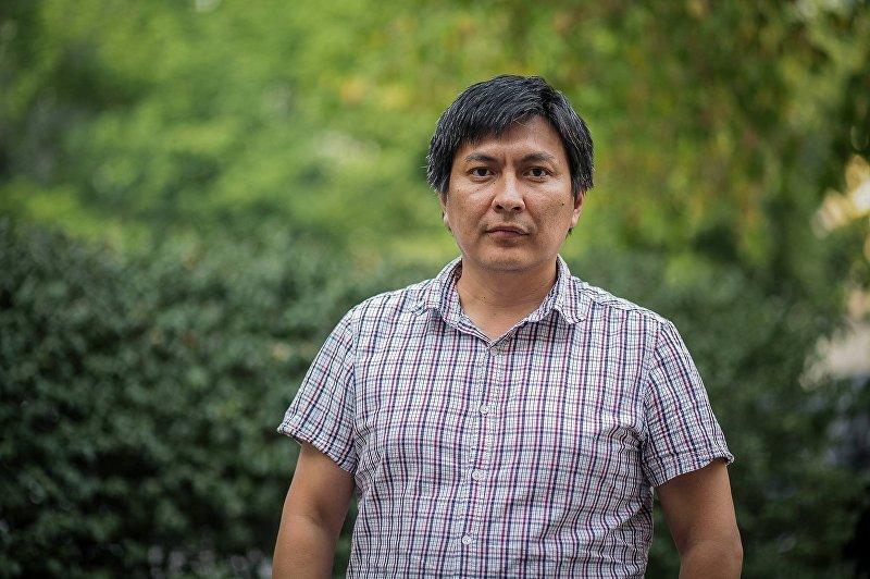 Создатель группы Kyrgyz Fake в Facebook, журналист Болот Темиров