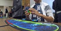 Новый рекорд! — подросток собрал кубик Рубика за 4,69 секунды