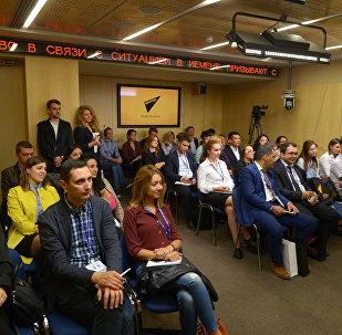 Международное информационное агентство и радио Sputnik дало старт очередной Школе молодого журналиста Sputnik