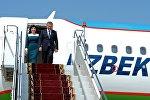 Өзбекстандын президенти Шавкат Мирзиёев Кыргызстанга мамлекеттик сапары менен келгенин өкмөттөн кабарлашты