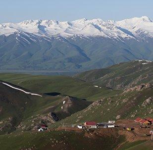 Вид на долину Суусамыр. Архивное фото