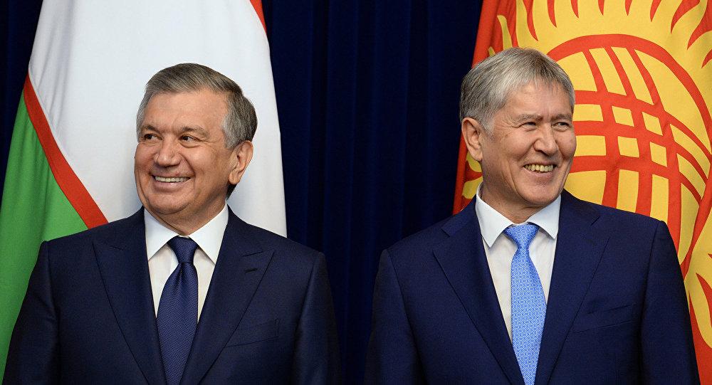 Визит президента Узбекистана Шавката Мирзиёева в Кыргызстан