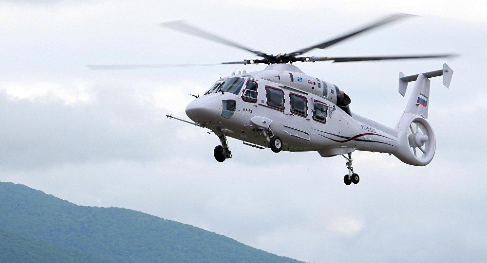 Новейший многоцелевой вертолет Ка-62 холдинга Вертолеты России входящий в Госкорпорацию Ростех