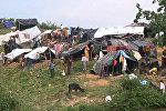 Беженцы рохинджа, бежавшие в Бангладеш из Мьянмы
