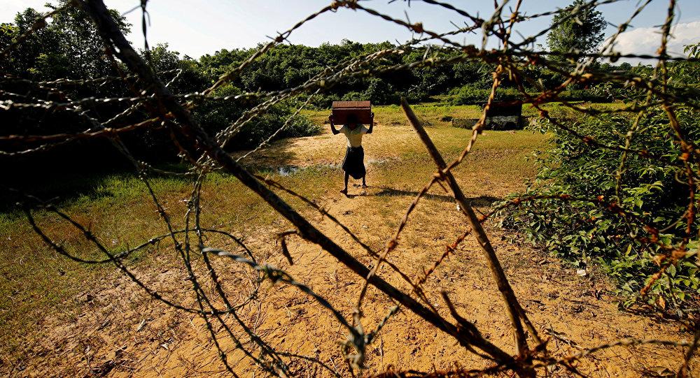 Мьянма Бангладеш чек арасы. Архивдив сүрөтү