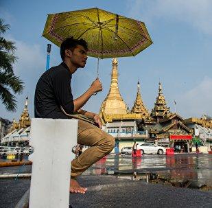 Мьянма. Город Янгон. Архивное фото