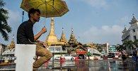 Мьянманын Янгон шаары. Архивдик сурөт