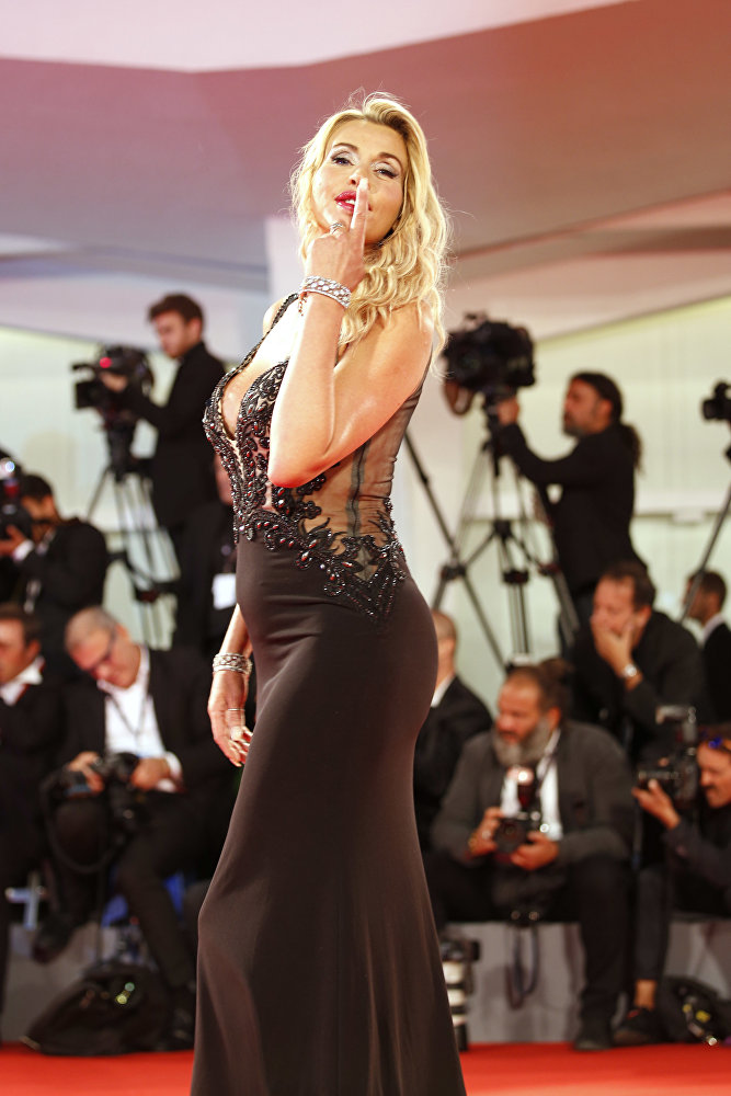 Италиялык актриса жана модель Валерия Марини