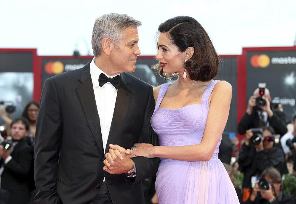 Жорж Клуни жубайы Амаль менен