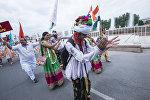 Индия улутундагы Бишкектеги тургундары. Архивдик сүрөт