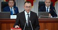 Вице-премьер министр Толкунбек Абдыгуловдун архивдик сүрөтү