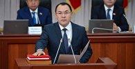 Архивное фото руководителя аппарата правительства Нурханбека Момуналиева